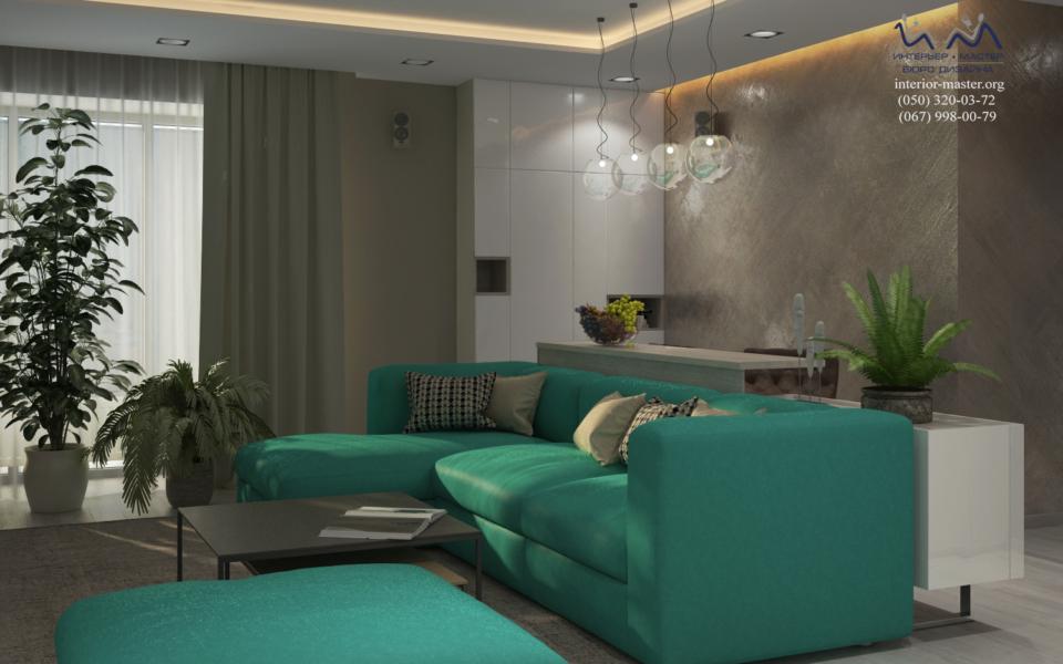 Гостиная Салют 6