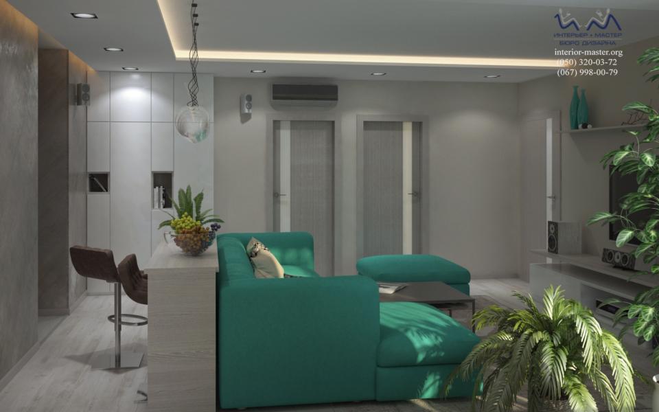 Гостиная Салют 8