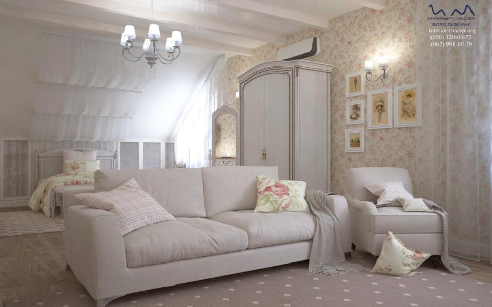 Спальня с балдахином 2