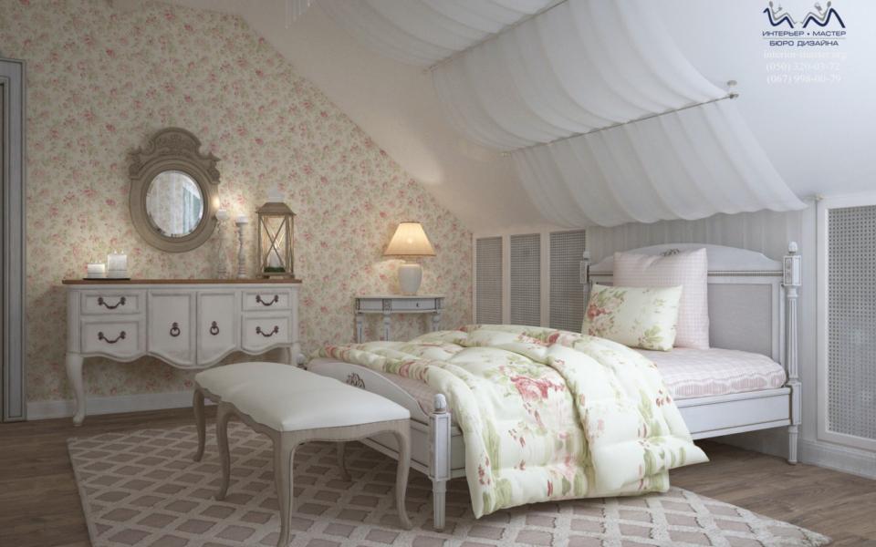 Спальня с балдахином 1
